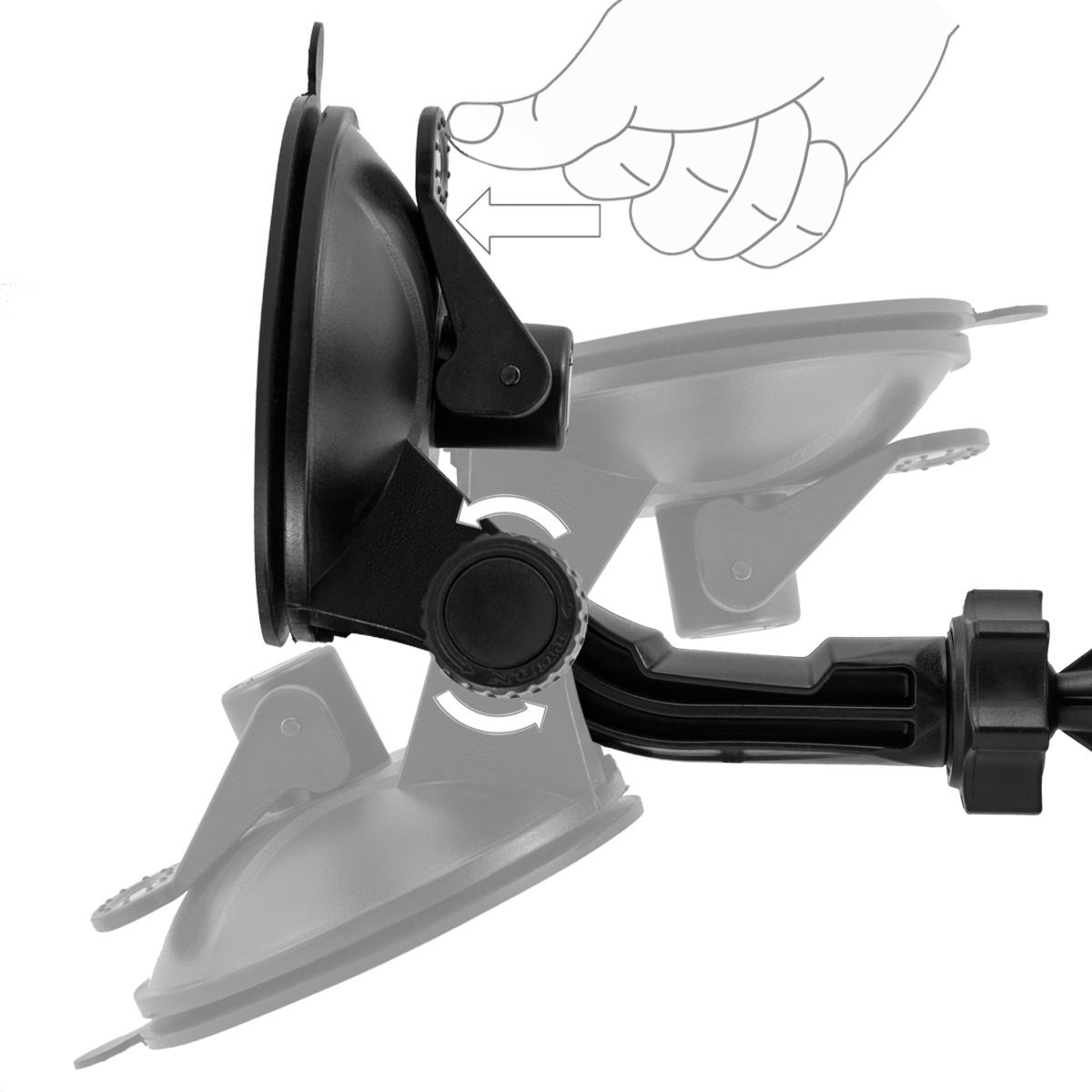 kfz auto lkw car holder halter halterung f sony xperia z3. Black Bedroom Furniture Sets. Home Design Ideas
