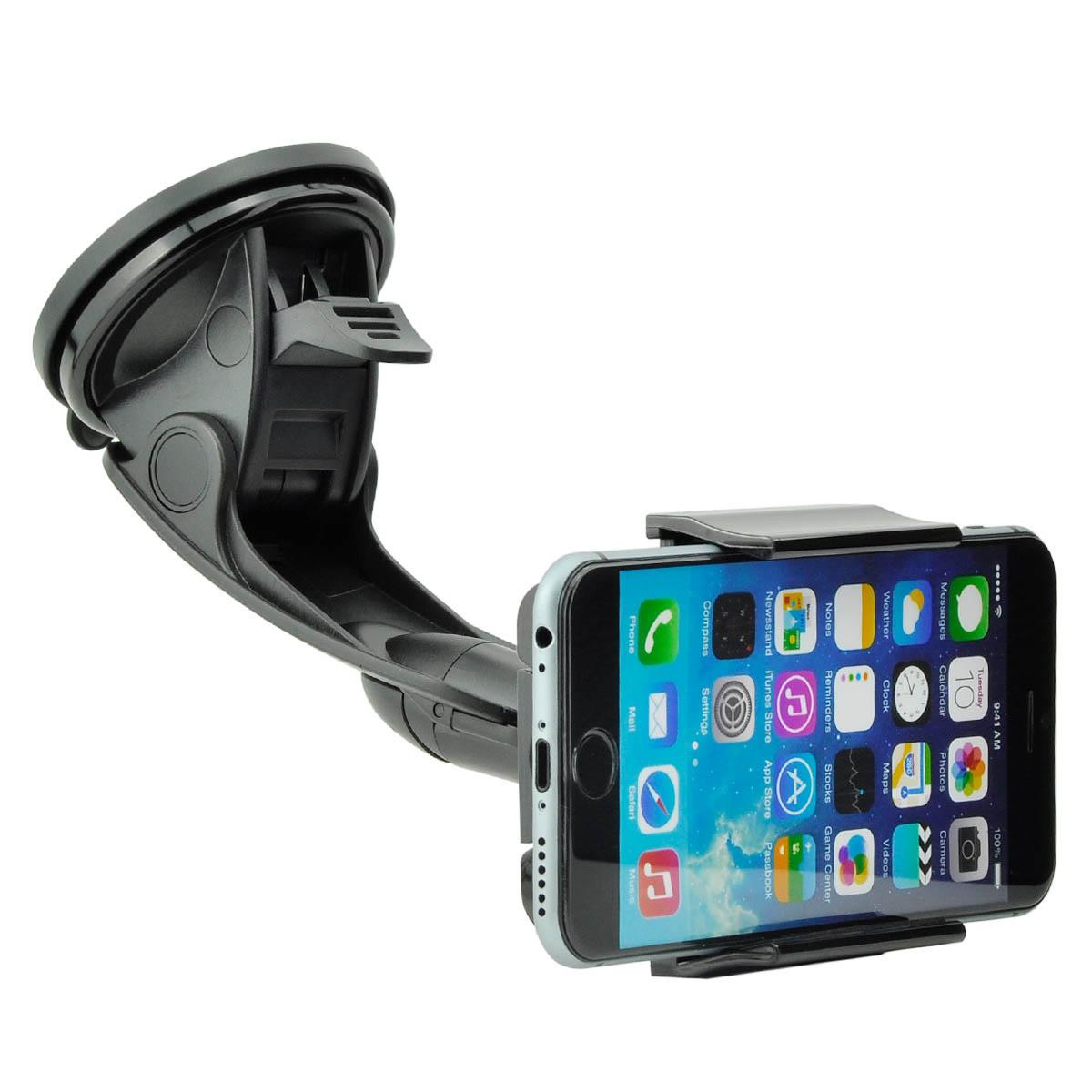 universal auto kfz handy halterung halter f apple iphone. Black Bedroom Furniture Sets. Home Design Ideas