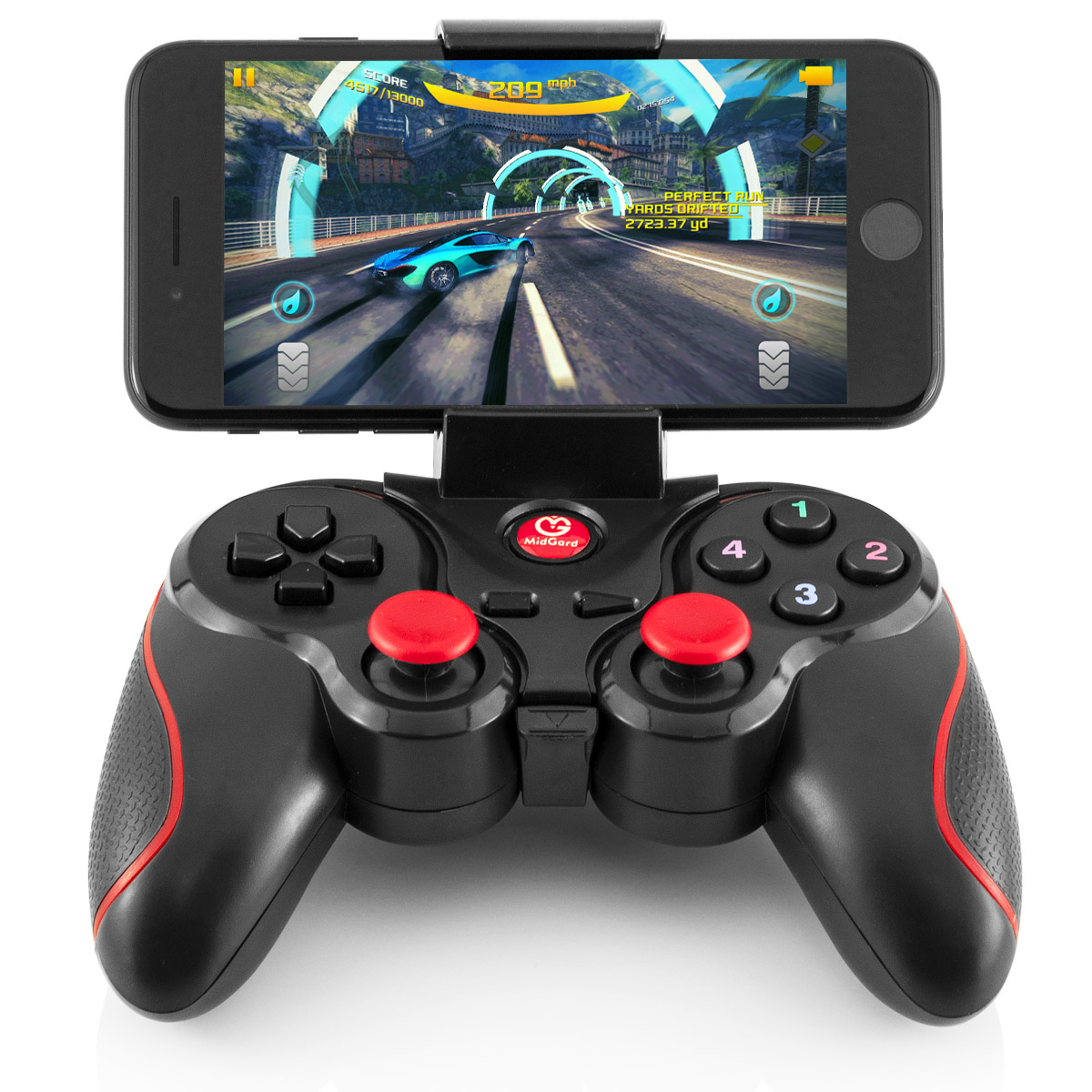 Game-Controller Gamepad IOS PlayStation PS3 PC Bluetooth