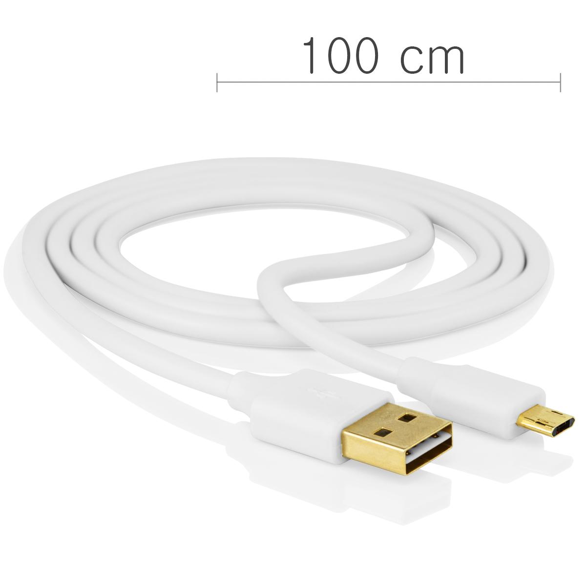 micro flip usb kabel ladekabel datenkabel reversible f r handy tablet smartphone. Black Bedroom Furniture Sets. Home Design Ideas
