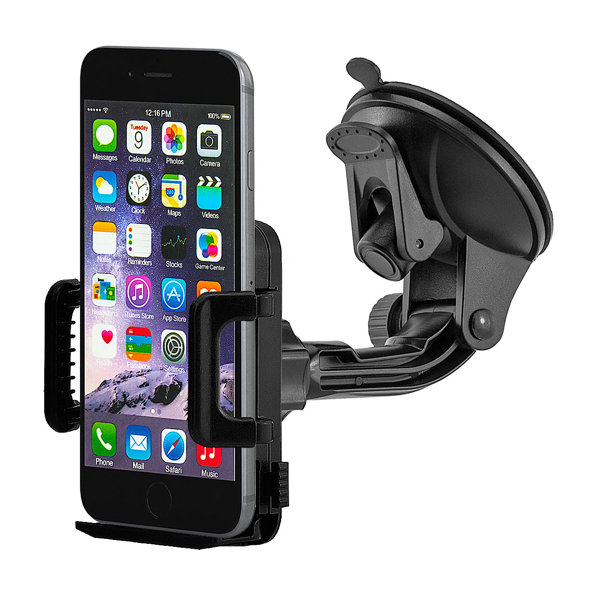auto kfz handy halterung halter car mount mount apple. Black Bedroom Furniture Sets. Home Design Ideas