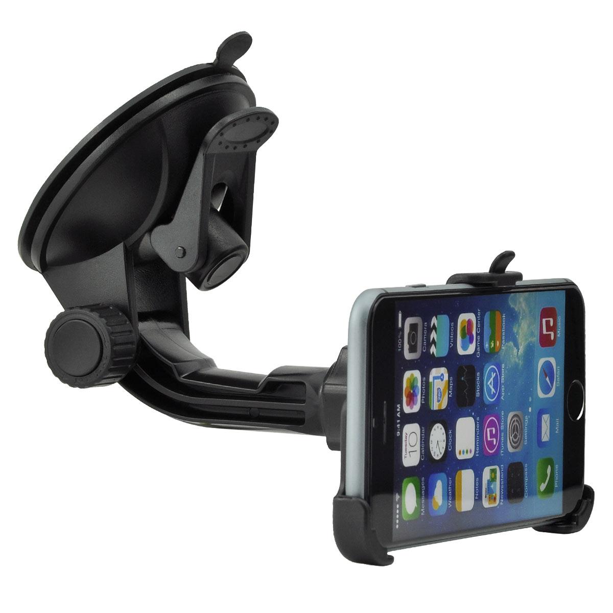 auto kfz handy halter halterung windschutzscheibe f apple. Black Bedroom Furniture Sets. Home Design Ideas